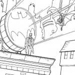 Batman junto a Gordon