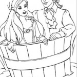 Colorea a la Princesa
