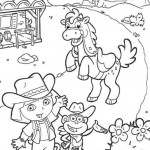Dora la Exlporadora en el rancho