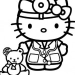Hello Kitty Doctora