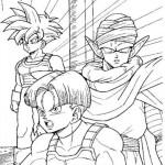 Piccoro, Trunks y Gohan