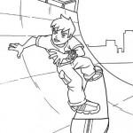 Ben 10 en Skate
