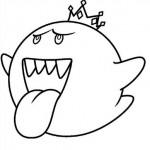 Kirby sacando la lengua