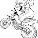Mario Bros en Moto