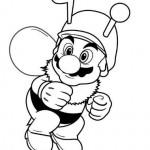 Mario Bros vestido de Abeja