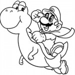 Mario Bros en pleno Salto