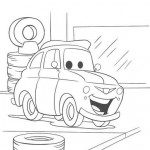 Cars en la gomería