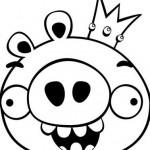 El cerdito de Angry Birds