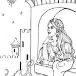 La princesa aguarda en su castillo