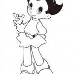 La chica de Astro Boy