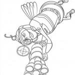 Una abeja al ataque