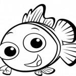 Dibujo para colorear de Nemo