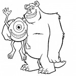 Dibujos para Colorear de Monster Inc