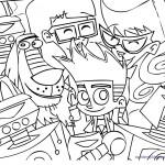Dibujos para Colorear de Johnny Test