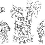 Dibujos para Colorear de Jake el Pirata