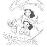 Dibujos para Colorear de Lilo