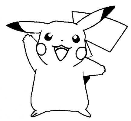 DIBUJOS de Pokemon】 para COLOREAR a lapiz a color