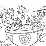Dibujo Alicia en el país de las maravillas 1495328144