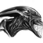 Dibujo Alien 1494411176