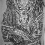 Dibujo Alien 1494411303