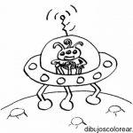 Dibujo Alien 1494411317