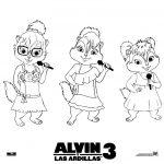 Dibujo Alvin y las ardillas 1495328352