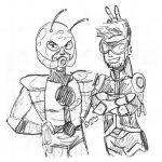 Dibujo Ant-Man 1495028557