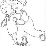 Dibujo Caillou 1494406332