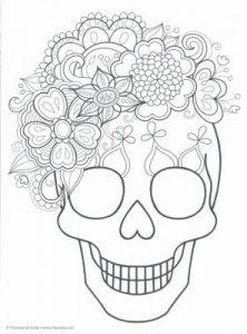Dibujo Calaveras Mexicanas 1494417338