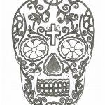 Dibujo Calaveras Mexicanas 1494417352