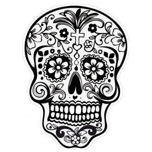 Dibujo Calaveras Mexicanas 1494417398