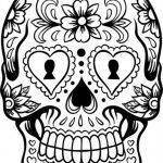 Dibujo Calaveras Mexicanas 1494417452