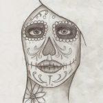 Dibujo Calaveras Mexicanas 1494417465