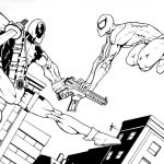 Dibujo Deadpool 1494435096