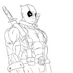 Dibujo Deadpool 1494435302