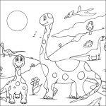 Dibujo Dinosaurios 1495029356