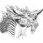 Dibujo Dragones 1494349542