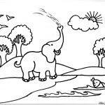 Dibujo Elefantes 1495031124