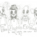 Dibujo Five Nights at Freddy 1494434654