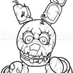 Dibujo Five Nights at Freddy 1494434668