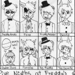 Dibujo Five Nights at Freddy 1494434724