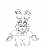 Dibujo Five Nights at Freddy 1494434802