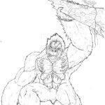Dibujo King Kong 1494418946