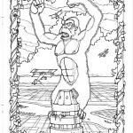 Dibujo King Kong 1494419010