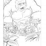 Dibujo King Kong 1494419022
