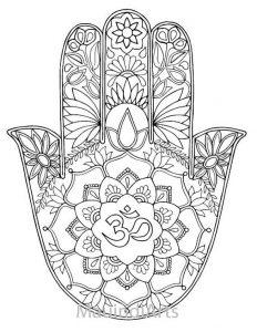 Dibujo Mano de Fátima 1494416369