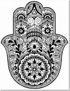 Dibujo Mano de Fátima 1494416400