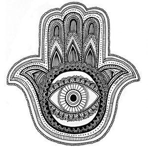 Dibujo Mano de Fátima 1494416477
