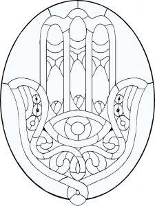 Dibujo Mano de Fátima 1494416630