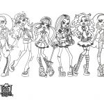 Dibujo monster high 1494340138